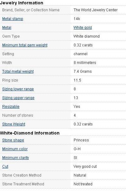 Brand Name Wedding Rings 89 Unique White Gold Princess Diamond
