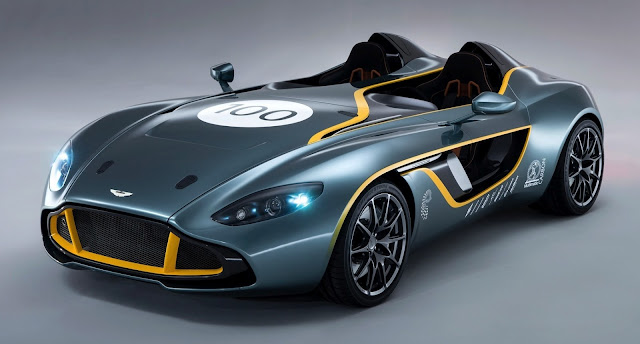 Aston Martin CC100 Speedster Concept: That's What I Call a 100th Birthday Present