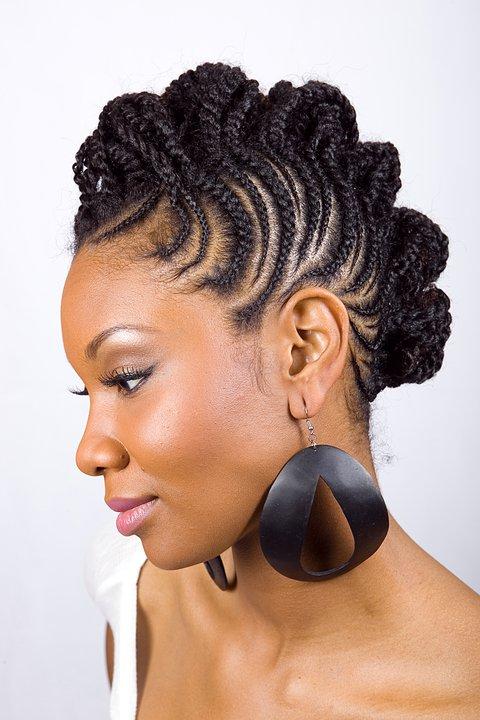 Natural Hairstyles Black Women Braids