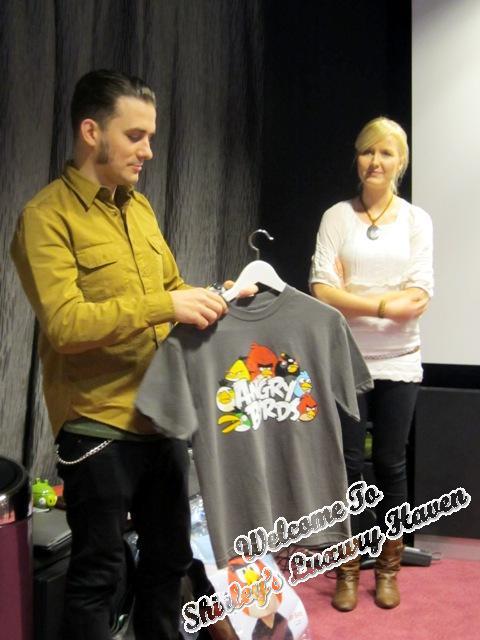 rovio angry birds merchandise t-shirt