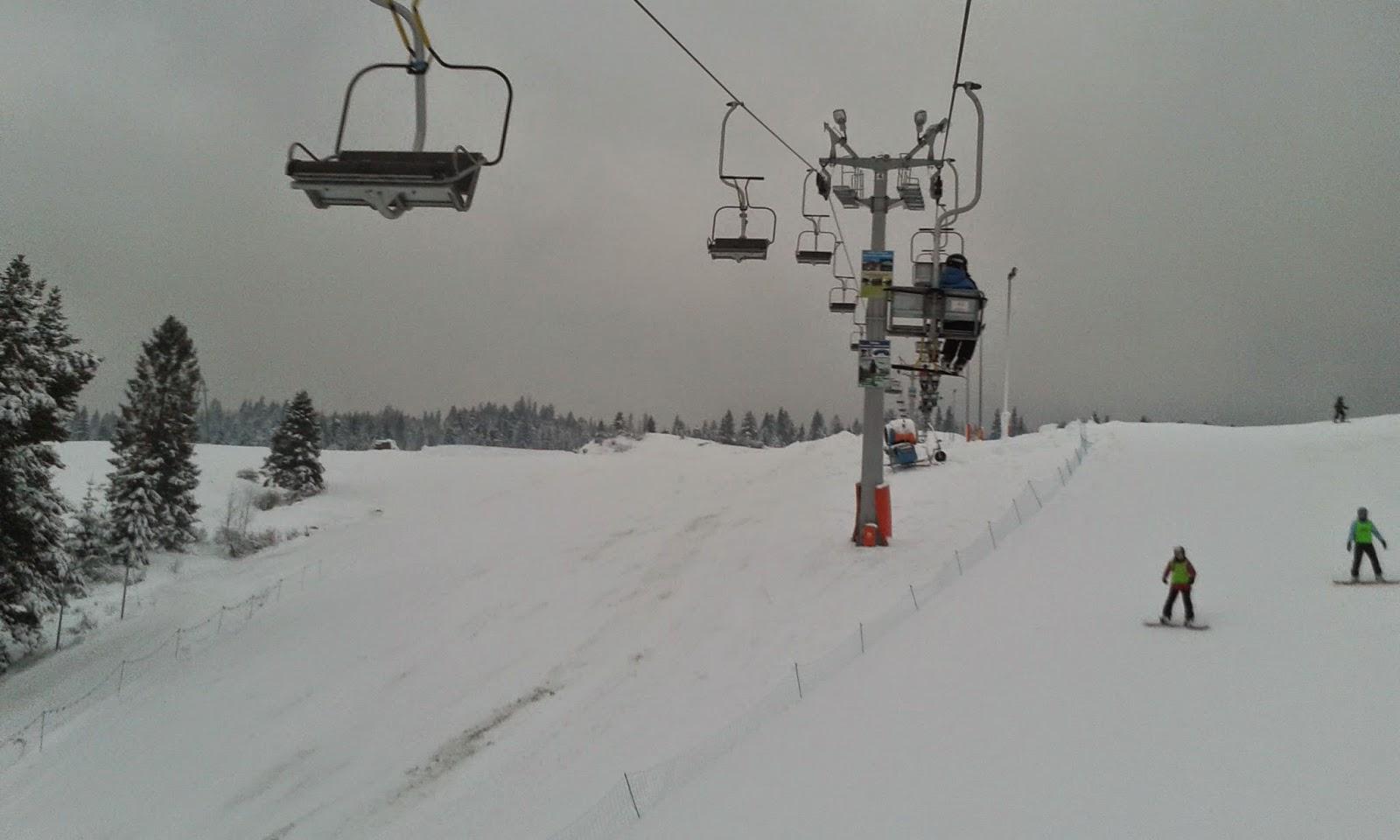 """ośrodek narciarski """"Homole"""" w Jaworkach"""