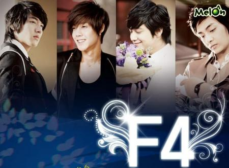 Flower Picture on Flowers Boys  F4  De Los Dramas   Mis Dramas Coreanos