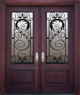 Cool Front Doors on The Home With An Iron Door  Benefits Of Iron Doors