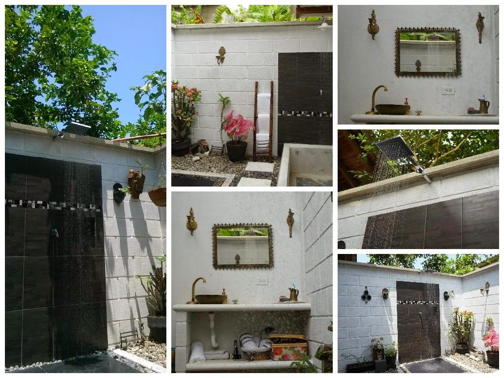 Decoracion Baño Rural:baño, decoracion ducha rural, decoracion ducha exterior, decoracion