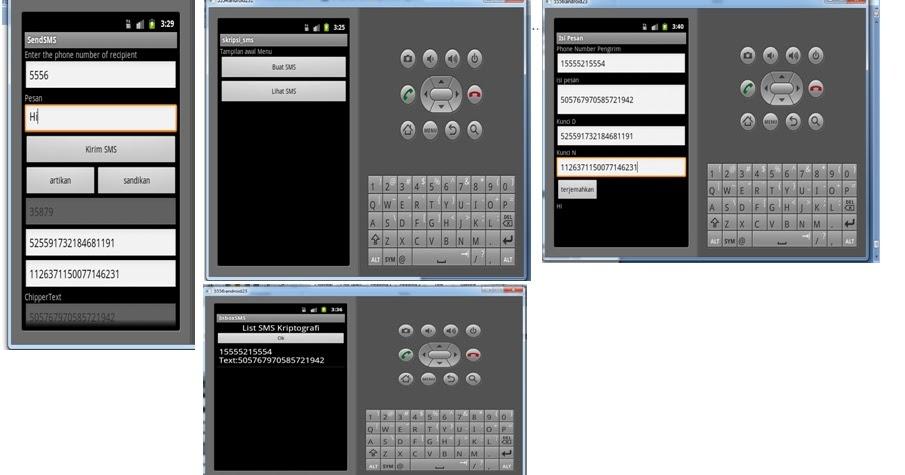 Properz Life: Aplikasi SMS Kriptografi dengan Metode RSA