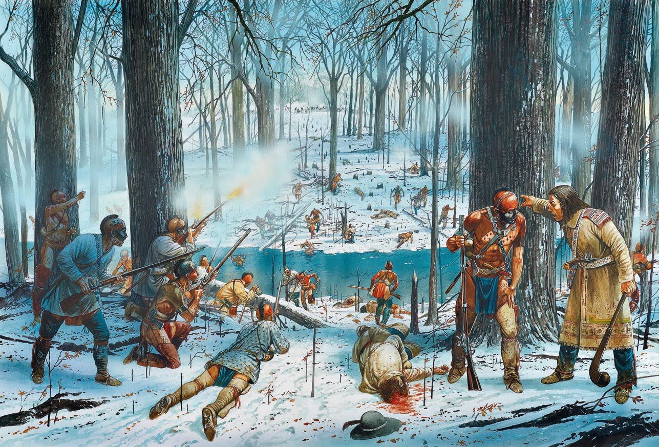 what was the battle of fallen timbers