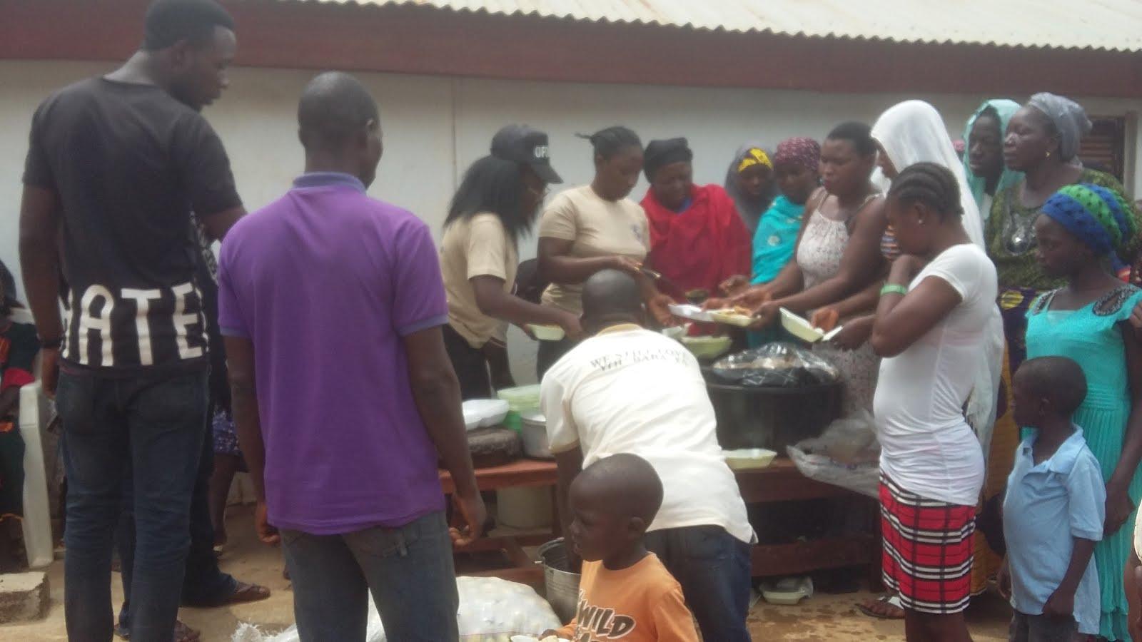Feeding Gurku Nassarawa State