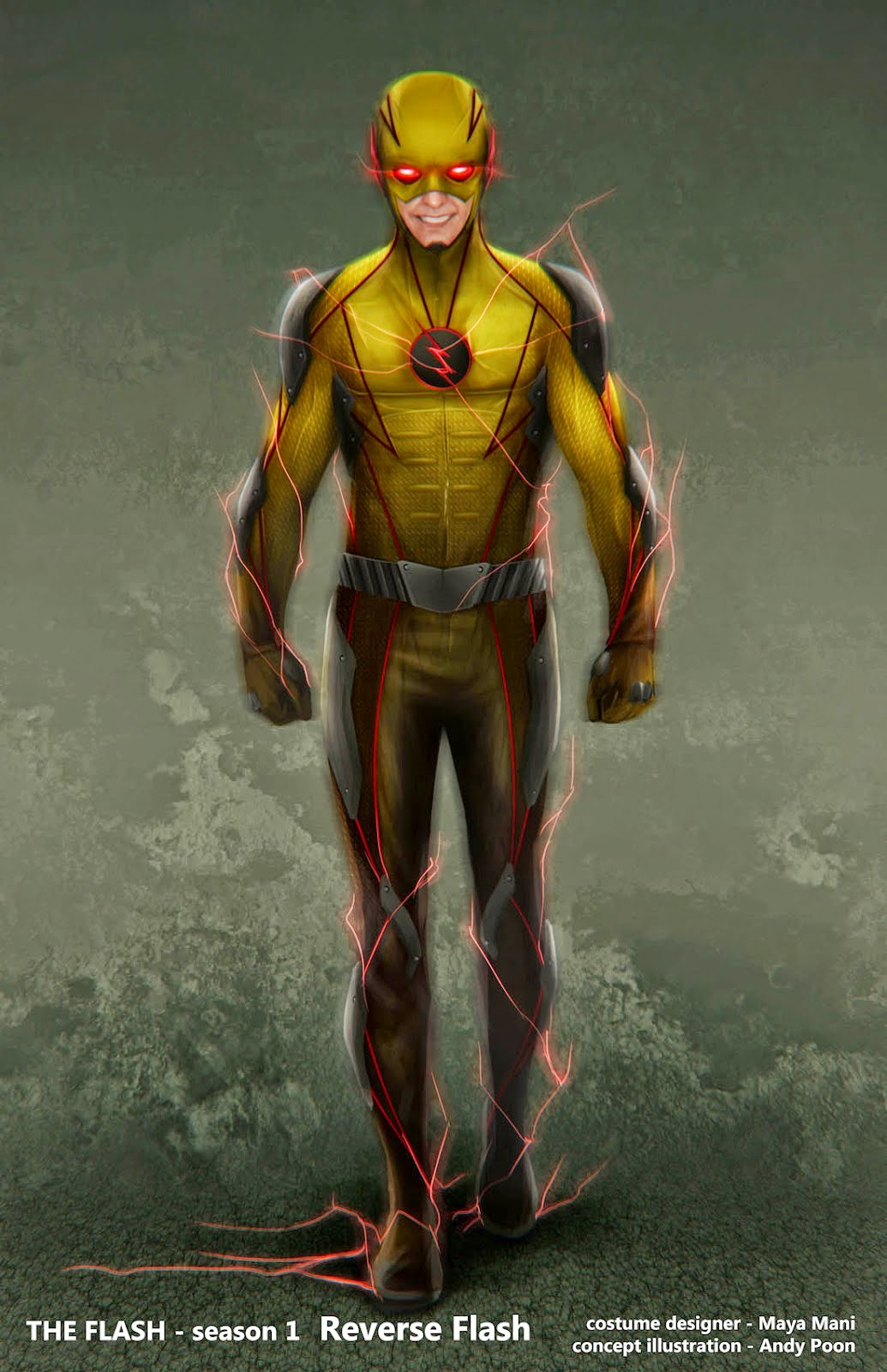 Reverse Flash And I Knew That It Is Harrison Wells Who In The Suit But Had No Idea What His True Identity Was Whole Back Story