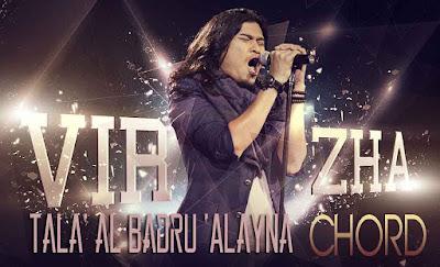 Lirik dan Chord(Kunci Gitar) Virzha ~ Tala' al Badru 'Alayna