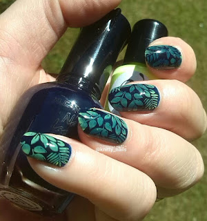 Moyou London Tropical 03 and Virtuous Polish Magdalene