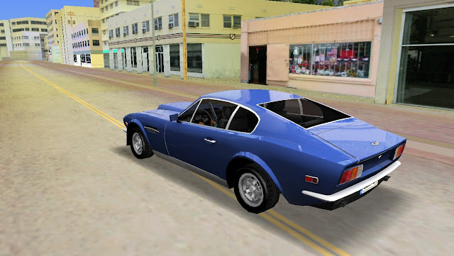 Aston Martin V8 Vantage 1970 - GTA Vice City