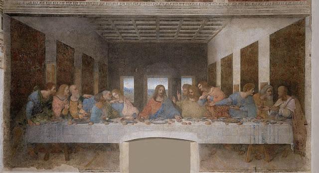 Kisah dibalik lukisan Perjamuan Terakhir karya Leonardo da Vinci