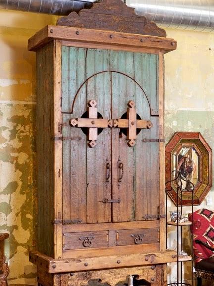 Antique Rustic Armoire