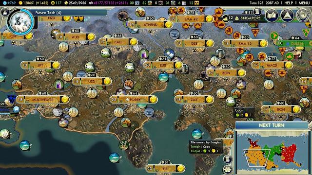 Civilization 5 - Resources Screenshot