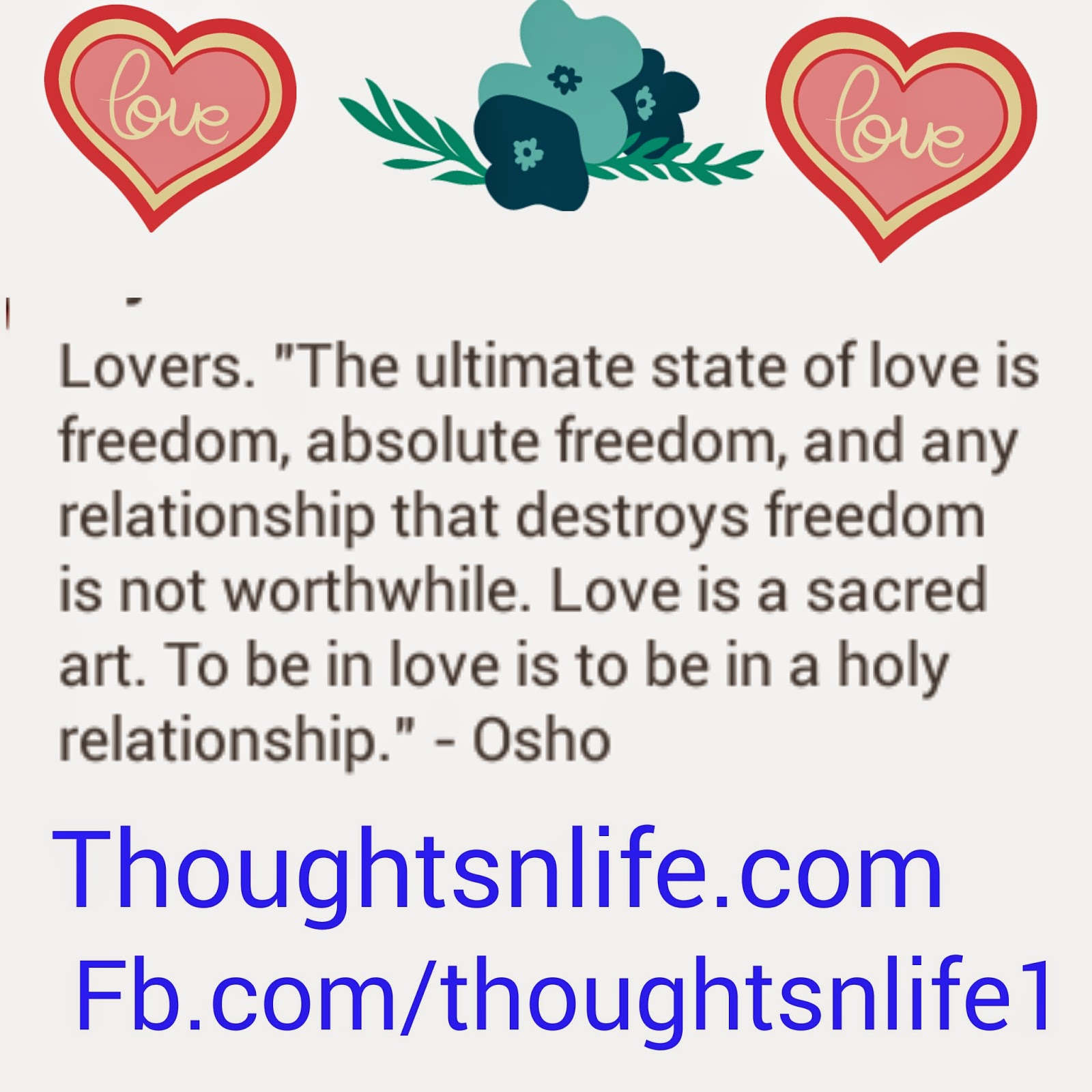 thoughtsnlife, osho quotes ,love quotes ,quotes about love