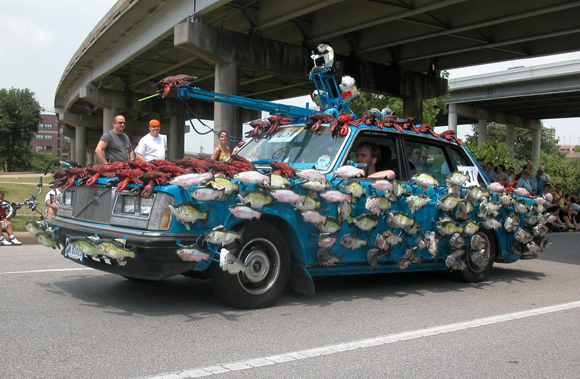 Sashimi Tabernacle Choir Art Car Central