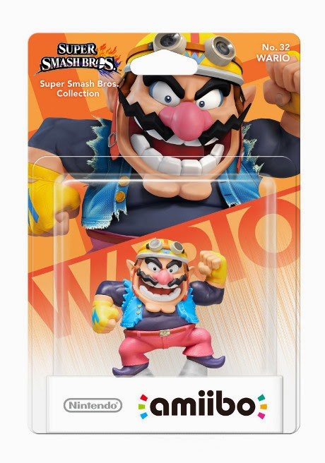 JUGUETES - NINTENDO Amiibo - 32 : Wario (24 Abril 2015) | Videojuegos | Muñeco | Super Smash Bros Collection Plataforma : Wii U & Nintendo 3DS