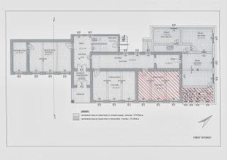 Warmed zone - ground floor