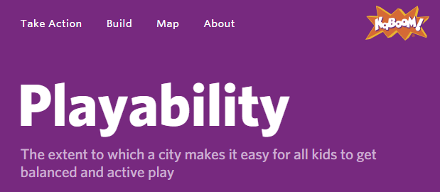 Playability let's get #involved and #active!