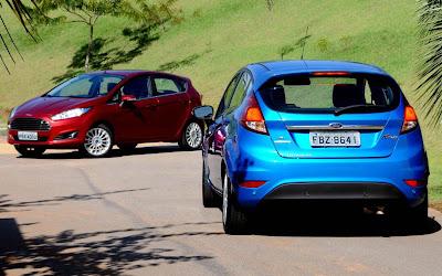 Ford New Fiesta Hatch 2014 Titanium Automático