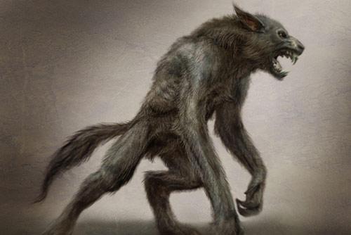 manusia serigala - werewolf