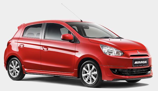 Spesifikasi Dan Harga Yang Di Tawarkan Mobil Mitsubishi Mirage
