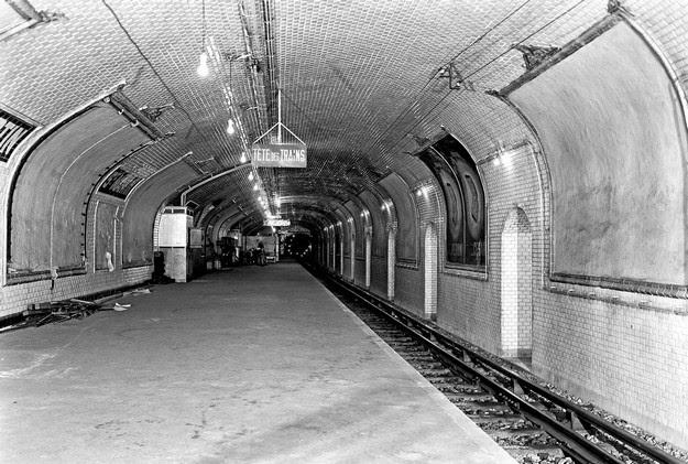 abandoned Métro stations Paris1