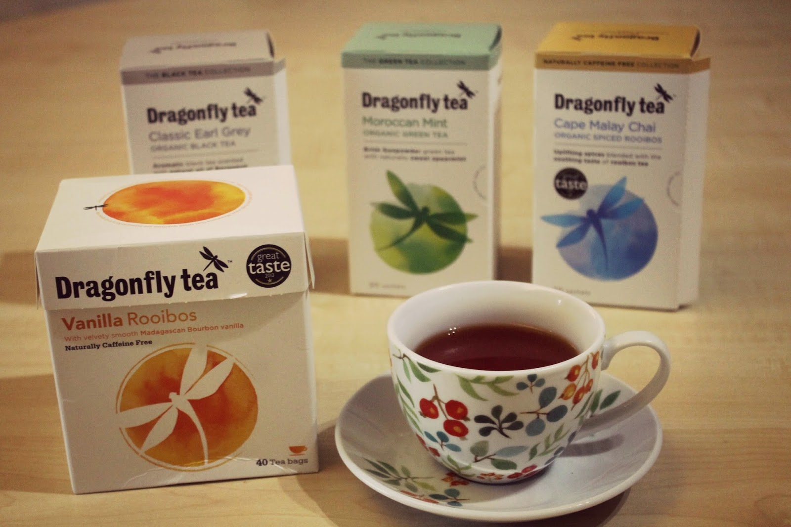 dragonfly tea reviews