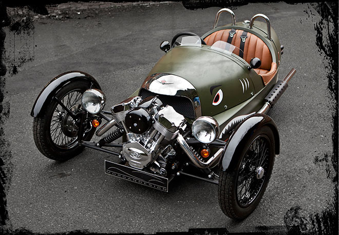 Morgan 3 Wheeler. Morgan 3 Wheel Reborn