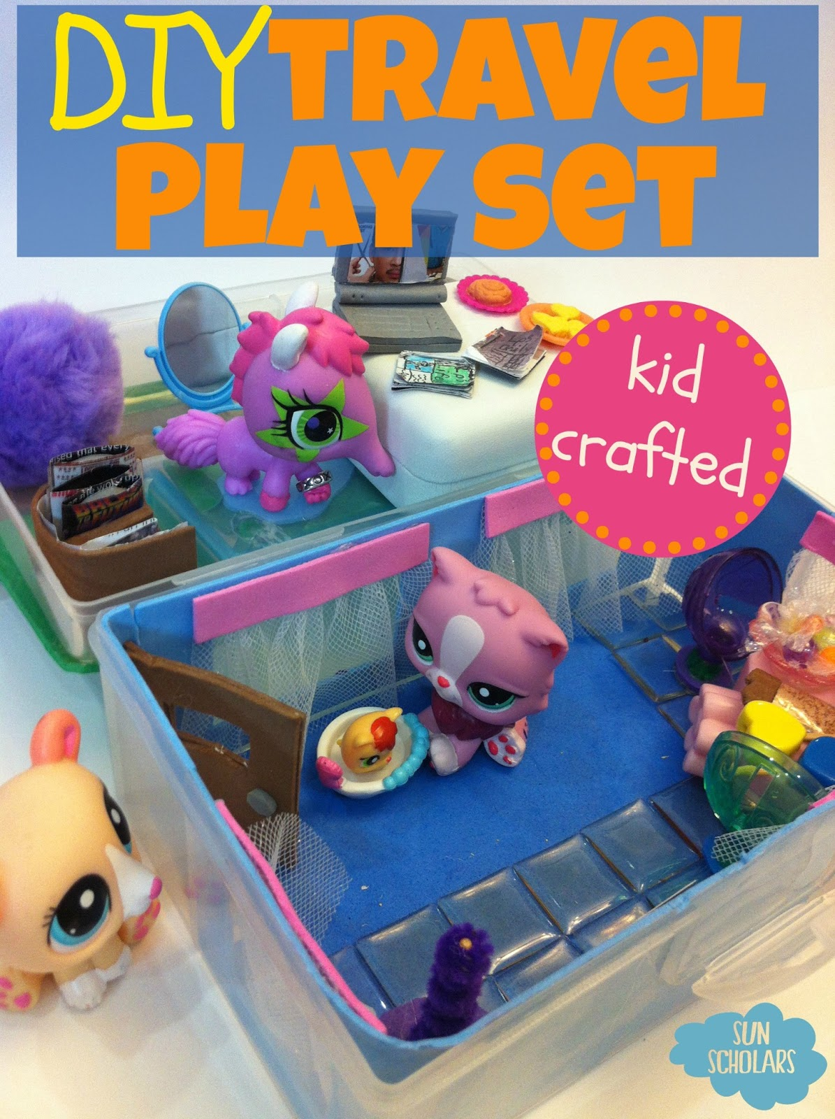 Kids craft travel play set guest post red ted art 39 s blog for Arts and crafts sets for kids