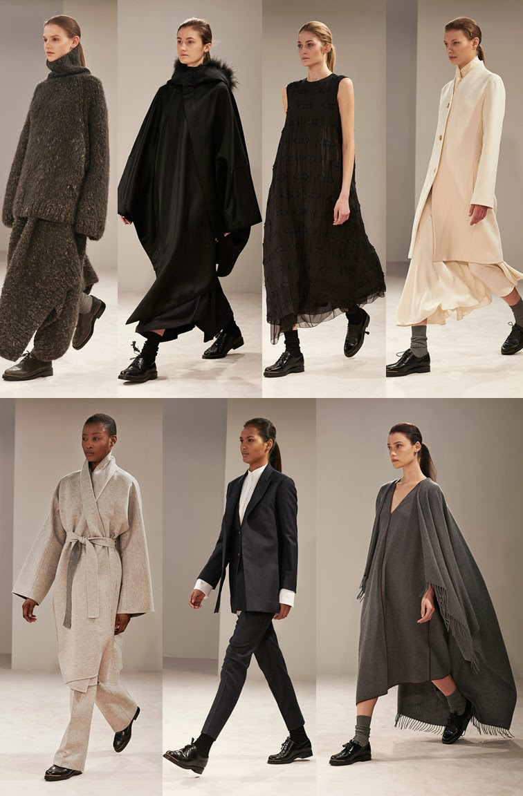 The Row fall winter 2014 runway collection, NYFW, fashion week, Mary Kate Ashley Olsen