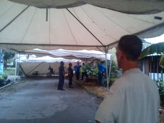Ucus : Khemah dan landskap MPJBT