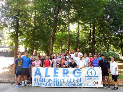 Craiova alearga pentru Spitalul Copiilor