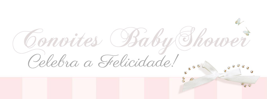 Convites de BabyShower