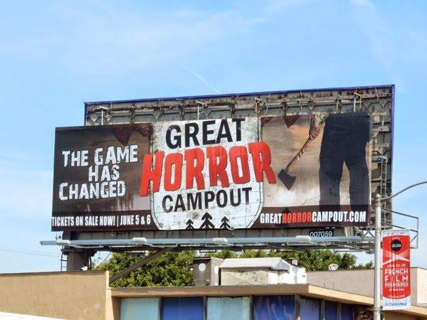 Great Horror Campout 2015 billboard