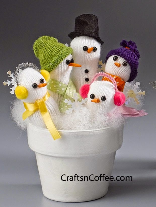 27 Adorable Snowman Craft Ideas