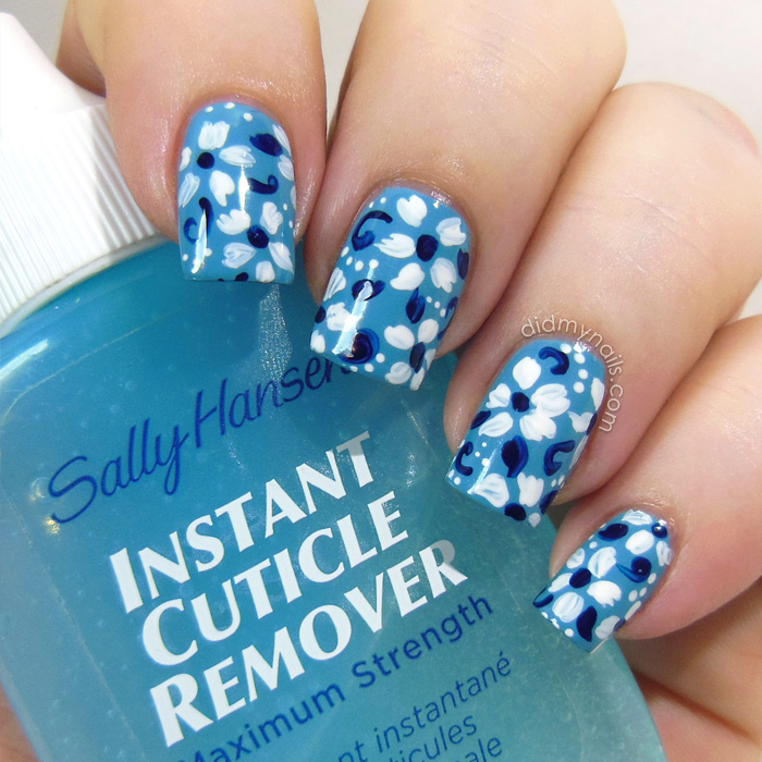 cuticle remover and nail art