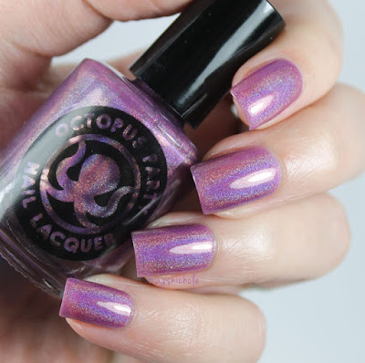 Octopus Party Nail Lacquer Teenage Bedroom by Bedlam Beauty