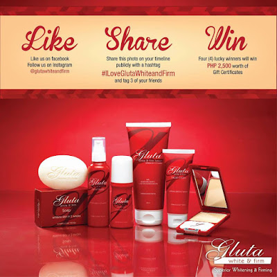 Gluta White And Firm Online Contest