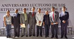 """90 Aniversario luctuoso de Los Mártires del 28 de Agosto de 1924"""""""