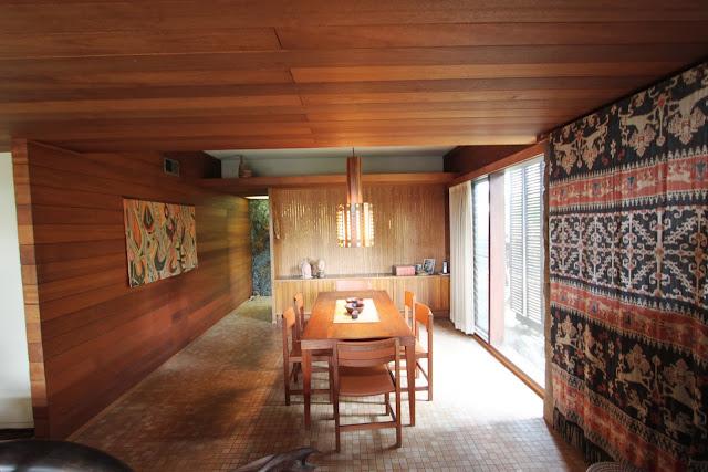 Denwar Pottery Home, Esther and Jo Dendel, Costa Mesa, CA, mid-century modern