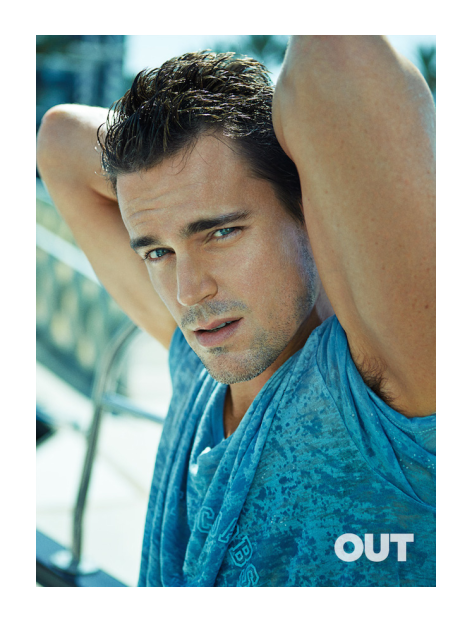 Matt Bomer by Kai Z Feng for Out Magazine