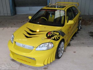 Cars Modification Honda