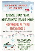 Buttermilk Basin Design - Home for Holidays Blog Hop