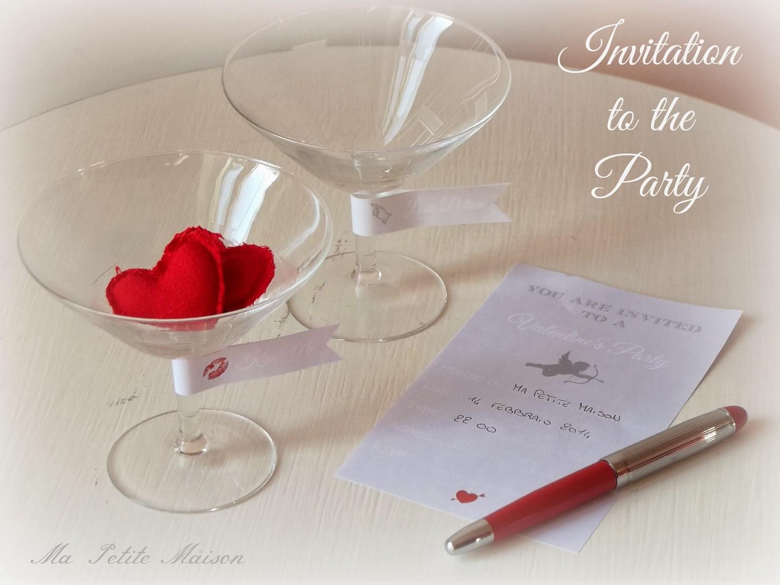 Invito di San Valentino