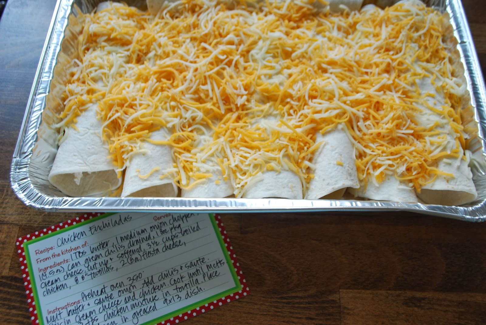 this & that: Easy Chicken Enchiladas