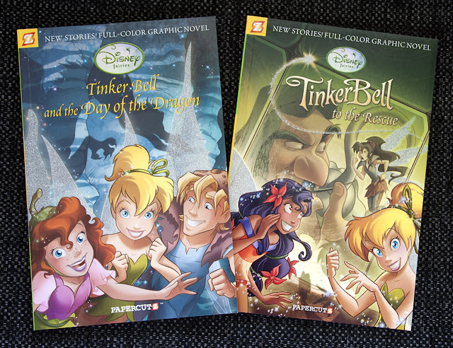 Tinker Bell comics from Papercutz