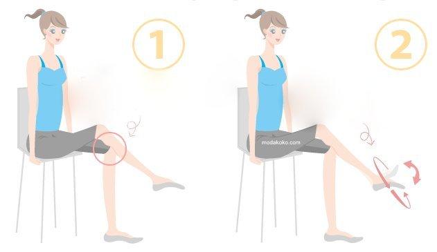 Ayak Bileklerini İncelten Egzersiz