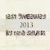 Last Giveaway 2013 By Nina Shukri