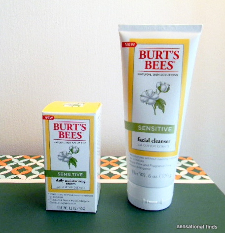 Aged bee burts care facial skin